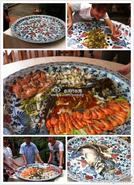 海鲜盛宴——大盘鱼