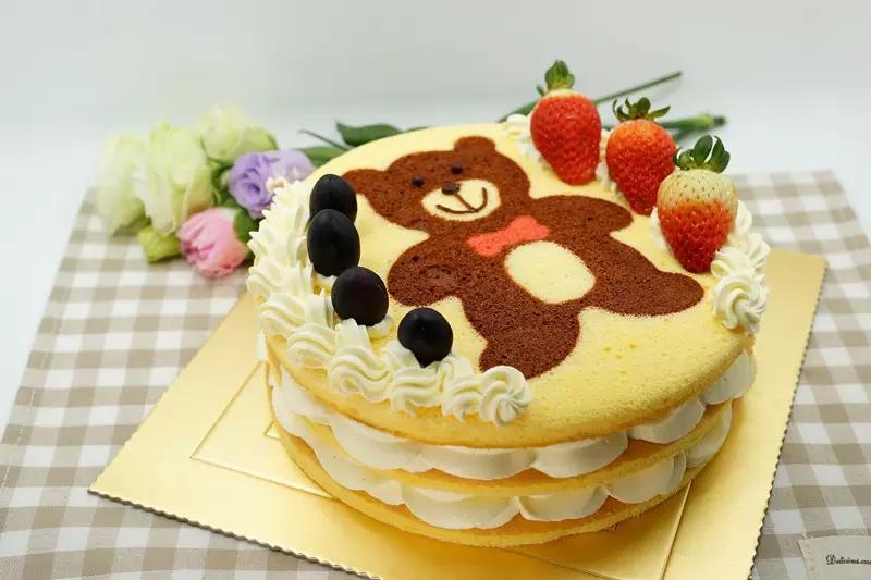 萌熊生日蛋糕